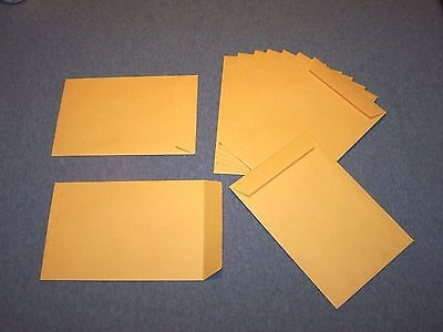 "10  -  6 1/2"" x 9 1/2"" Catalog Envelopes.  Gummed flap, 28lb Kraft  (6.5 x 9.5)"
