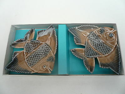 Pair of Wade Boxed Aqua-Dishes Perfect Undisplayed Condition
