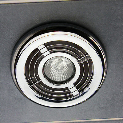bathroom ceiling light kit chrome air vent grill outlet inlet duct rh picclick co uk Home Depot Chrome Bathroom Lights Chrome Bathroom Light Fixtures