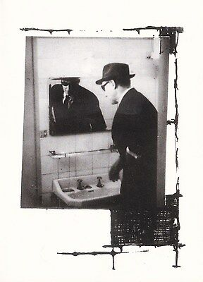 William Burroughs Brion Gysin William Vacates Rooms Collage Blank Notecard 1996
