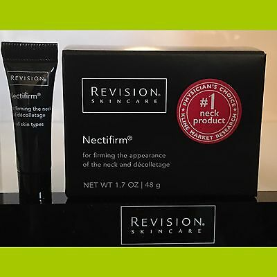 REVISION Nectifirm® Neck Firming Cream 1.7oz. + FIRMING NIGHT TREATMENT SAMPLE !