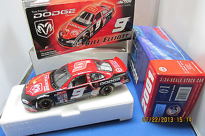 Bill Elliott #9 Dodge/Muhammad Ali 2001 Intrepid    Limited Edition 1/24 Scale