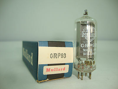Orp93 Tube. Mullard Brand Tube. Counting And Measurement Tube. Nos/Nib. Rc74.