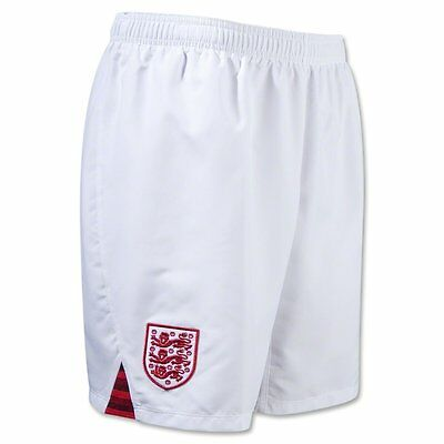 Authentic Umbro Junior Kids England Home Shorts 2012/13, Size: LB  (11-12 Years)