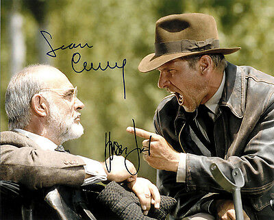 Harrison Ford & Sean Connery (Indiana Jones) Signed Photo Print 02
