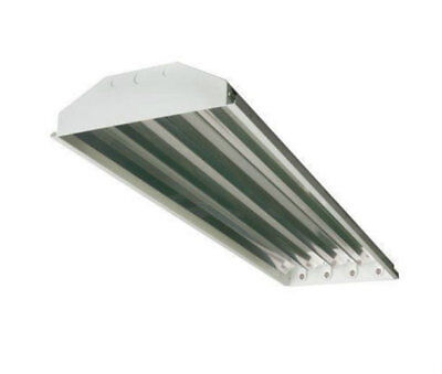 New High Low Bay T8  4 Lamp Fluorescent Lighting Fixtures For Shops Garages