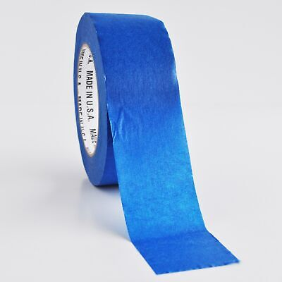 2 Inch x 60 Yards 12 Rolls Painters Tape Blue Masking Tapes 5.6 Mil