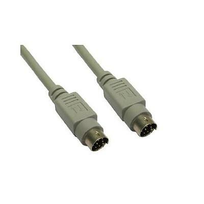 GP196 8 Pin mini din cable male to male 2 Metres