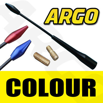 Black Red Blue Bee Sting Aerial Antenna Mast Am Fm Peugeot 206