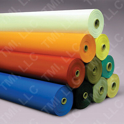 ORANGE 22 oz. Vinyl Coated Polyester Fabric - 100-yd roll-cheap!