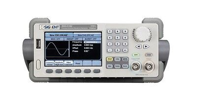 Siglent waveform function Generator Counter SDG5122 2ch 120Mhz 500MSa/s 16K+512K