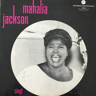 "MAHALIA JACKSON singt (Top Rank International 73 004 / Mono - 25 cm/10"" - Club)"