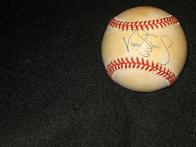 Darryl Strawberry Yankees Legend Authentic Hand Signed Autographed Oal Baseball
