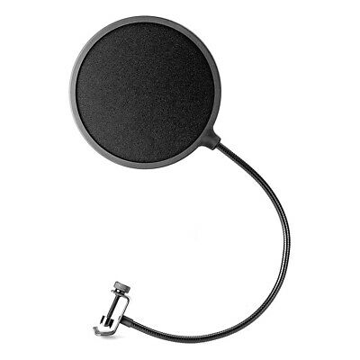Takstar Studio Microphone Mic Wind Screen Pop Filter Mask Shield Double Layer