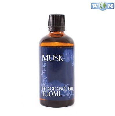 Musk 100ml Fragrance Oil for Soap, Bath Bombs (FO100MUSK)
