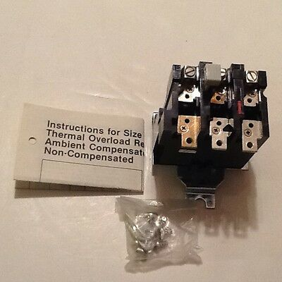 Westinghouse BA23J Thermal Overload Relay 3 Pole Nema Size 2