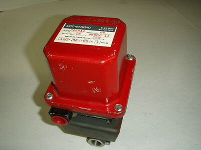 New MCC Marpac 115V .65A Electric Actuator Model: 805AA4