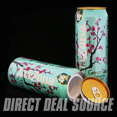 Green Tea Diversion Safe Vault Container CONCEAL STORE JEWELS VALUABLES