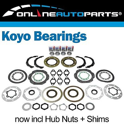 Swivel Hub Seal + Bearing Replacement Kit suits Landcruiser 76 78 79 80 Series