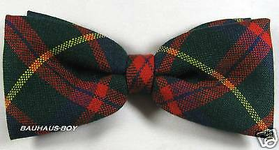 Bow Tie Modern Mackintosh Hunting Tartan Worsted Wool Made In Scotland For Kilts