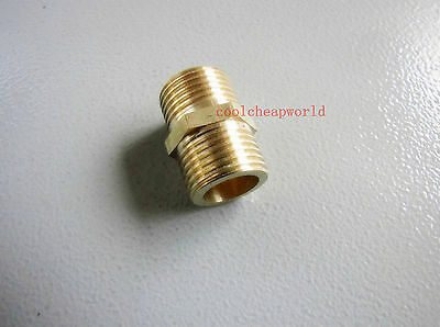 """5PCS 1//2/"""" BSPP Connection straight Male Pipe Brass Adapter Coupler Connector"""