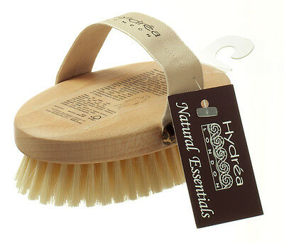 Professional Body Brush with Natural Bristle & Natural Beechwood - Dry Skin