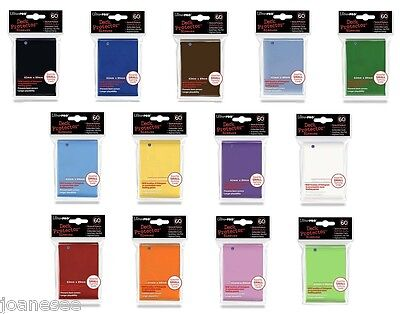 Card Sleeves x 60 Deck Protectors Ultra Pro - Take Your Pick - Old or New Style