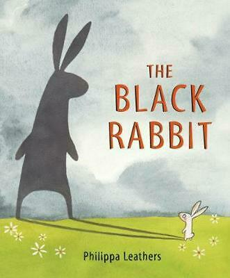 Black Rabbit by Philippa Leathers Hardcover Book (English)