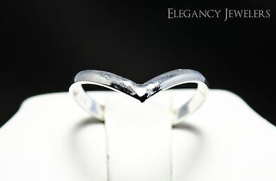 "Adjustable .925 Sterling Silver  ""V"" Band Summer Cute Beach Toe Ring"