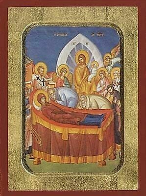 Orthodox Byzantine Icons The Dormition of the holy Virgin 3 Variations Koimisis