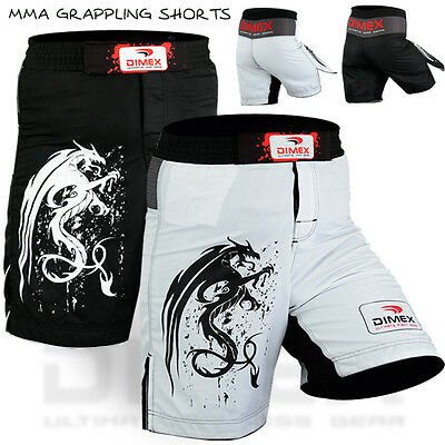 MMA Fighting Shorts UFC Grappling Cage Fight Muay Thai Kick Boxing Short - New