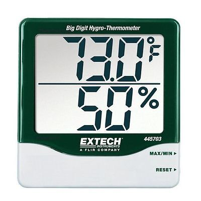 Extech 445703: Big Digit Hygro-Thermometer