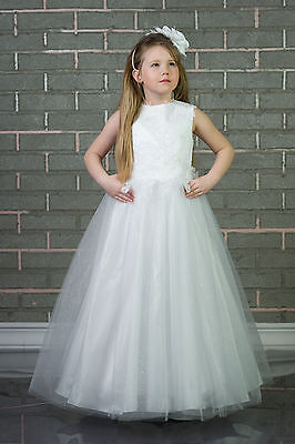 Wedding Flower Girl Bridesmaid Party Communion Occasion Dresses Age 2-13