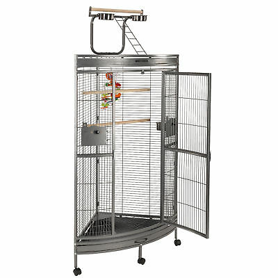 2Nd Ed Liberta Discovery Medium Corner Parrot Cage  African Grey Amazon  A09