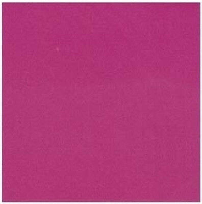 """Pack of 50 Sheets Japanese 6"""" SOLID FUCHSIA Origami Folding Paper, Made in Japan"""