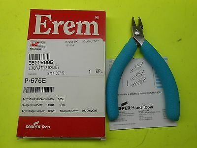 EREM COOPER Tools -- P-575E -- Angled Tip ESD Cutter Plier (NEW)
