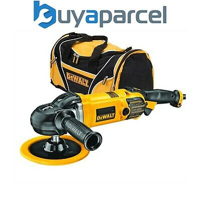Dewalt DWP849X 250W Premium 150mm 180mm Variable Speed Polisher 240V + Carry Bag