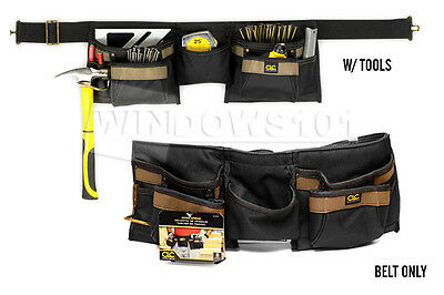 CLC Work Gear 1370 Custom Leathercraft  8 Pocket Carpenter Apron -FREE SHIPPING!