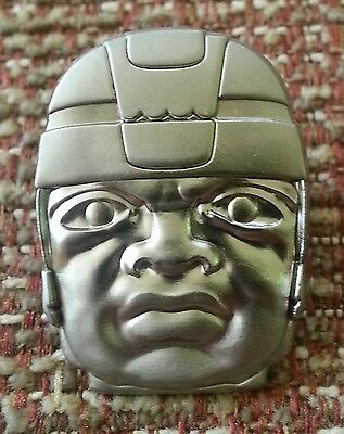 Olmec Colossal Head Lapel Pin