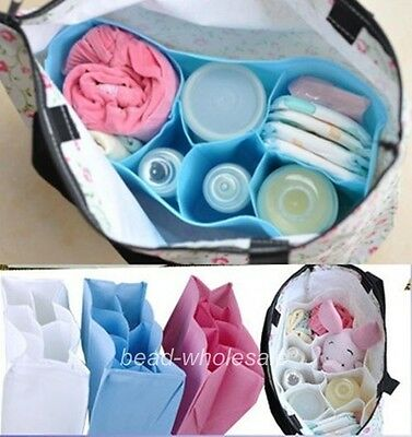 New Baby Diaper Nappy Storage Outdoor Travel Bag Tote Organizer Liner 4 Colors