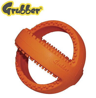 Happy Pet Grubber Interactive Ball For Dogs Foot Ball Toy Tough Strong Dog Toy