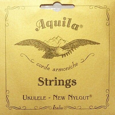 Aquila 7U Concert Ukulele Nylgut Strings Regular Tuning Concert Uke String Set