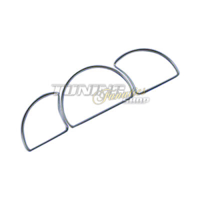 Chrom Chromringe Tacho Ringe Tachochromringe SET Opel Astra F / Vectra A