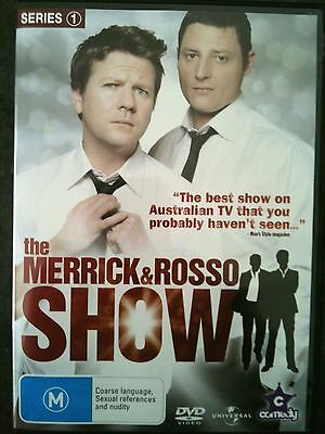 THE MERRICK & ROSSO SHOW~ AS NEW 2 x DVD ~ COMPLETE SERIES 1 ONE ~ REGION 4