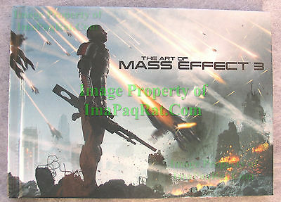 The Art Of The Mass Effect 3 - Brand New From N7 Collector's Edition Collectors