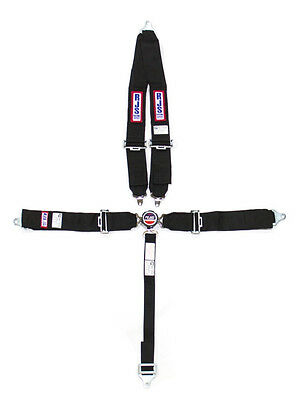 Rjs Racing Seat Belts Harness 5Pt Cam Lock Sfi 16.1Rated V-Type Bolt-In #1029301