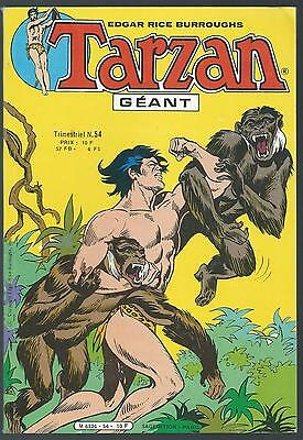 Tarzan Géant 54. Sagedition 1983