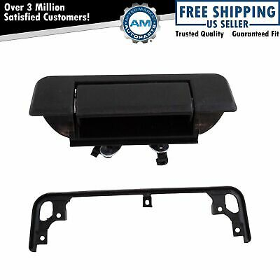 Tailgate Tail Gate Handle Black Rear for 84-88 Toyota Pickup Truck