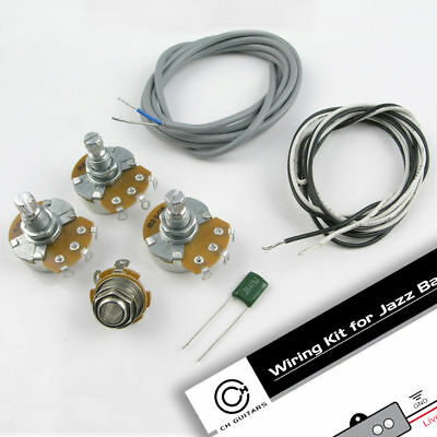 J Style Bass Wiring Kit. Poly capacitor, Alpha pots WK8