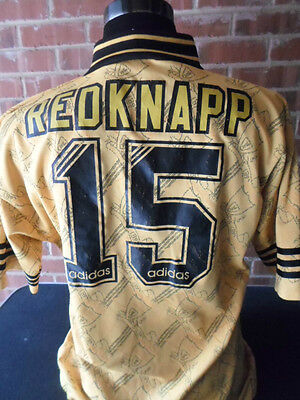 Redknapp # 15 Liverpool 1995-1996 3rd Football Shirt adult large chest (31153)
